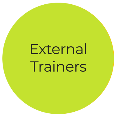 External trainers